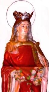 cartaz da rainha santa