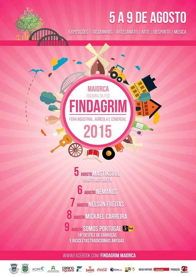 Cartaz Findagrim 2015