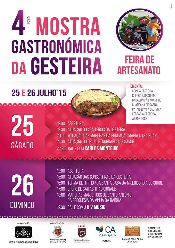 GESTEIRA GASTRON- CARTAZ