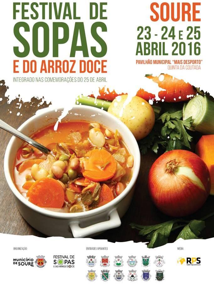 FESTIVAL DAS SOPAS - CARTAZ VÁLIDO