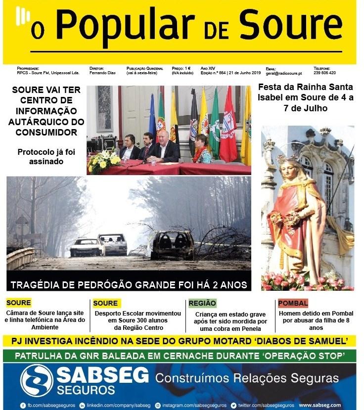 JORNAL 'O POPULAR DE SOURE' Nº 564