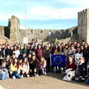 Programa Erasmus + BookPackers Em Visita A Soure