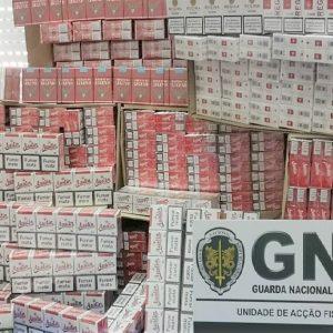 GNR APREENDEU 70 MIL CIGARROS EM SOURE EM AÇÃO DE FISCALIZAÇÃO E CONTROLO DE CIRCULAÇÃO DE MERCADORIAS
