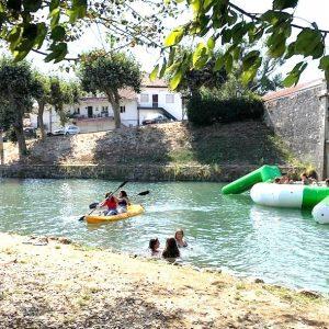 Soure Assinalou 'Dia Internacional Da Juventude' Com Muitas Atividades Aquáticas