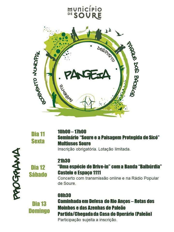 PANGEIA – 2020 FESTIVAL DA JUVENTUDE DE SOURE ESTE FIM-DE-SEMANA