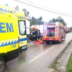 Acidente Na EN 109 Na Figueira Da Foz Provocou Um Ferido Grave