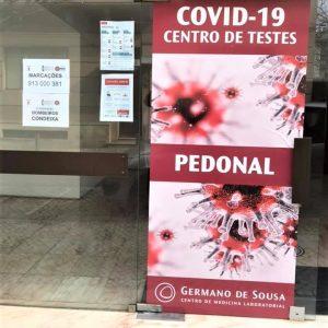 Centro De Rastreios De Covid-19 Em Condeixa-a-Nova Funciona No Quartel Dos Bombeiros