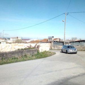 Entrada Sul Da Vila De Soure Com Maior Visibilidade Com A Demolição Do Edifício 'adega Do Freitas'
