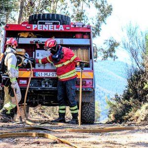 Incêndio Florestal Em Penela Obrigou à Intervenção De Meios Aéreos