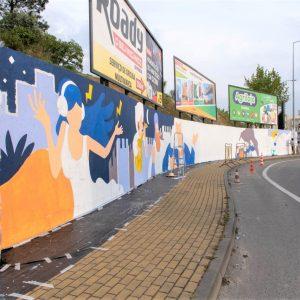 Autarquia Pombalense Pinta Mural Junto Ao IC2 Para Incentivar Visitas Turísticas