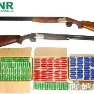 GNR Apreendeu Armas E Monições A Homem Acusado De Violência Doméstica Na Figueira Da Foz