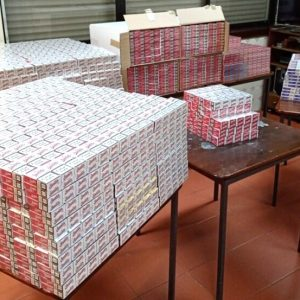 GNR Apreendeu 168 Mil Cigarros Em Situação Irregular Na Zona De Pombal