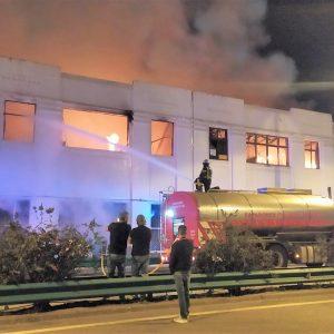 Incêndio Em Oficina E Lojas/armazém Na Figueira Da Foz Provocou Apenas Danos Materiais