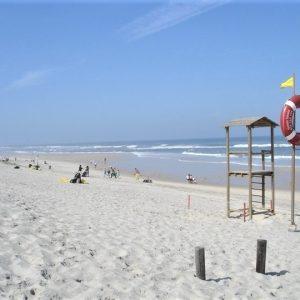 Praia Do Osso Da Baleia A Hastear A Bandeira Azul Há 18 Anos