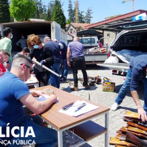 PSP De Coimbra Recebeu 566 Armas E 1.000 Munições De Entregas Voluntárias Dos Cidadãos