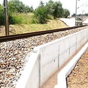 Estabilizado Talude No Ramal Ferroviário De Alfarelos