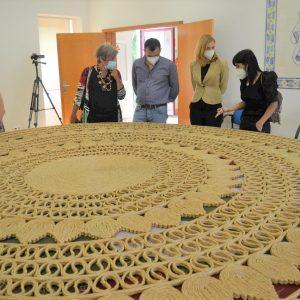 Pombal Mostra Carpete 'gigante' Produzida Com Bracejo Em Aldeia De Torres Vedras