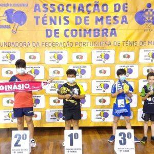 Atleta Da Associação Do Casal Do Redinho Sagra-se Campeão Distrital De Ténis De Mesa Sub-12