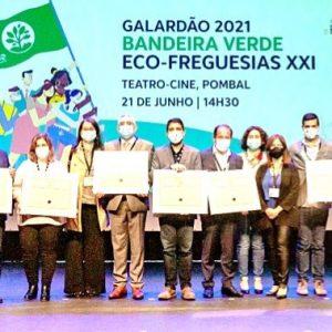 Concelho De Pombal Destacou-se No Eco-Freguesias XXI Conquistando 12 Bandeiras Verdes