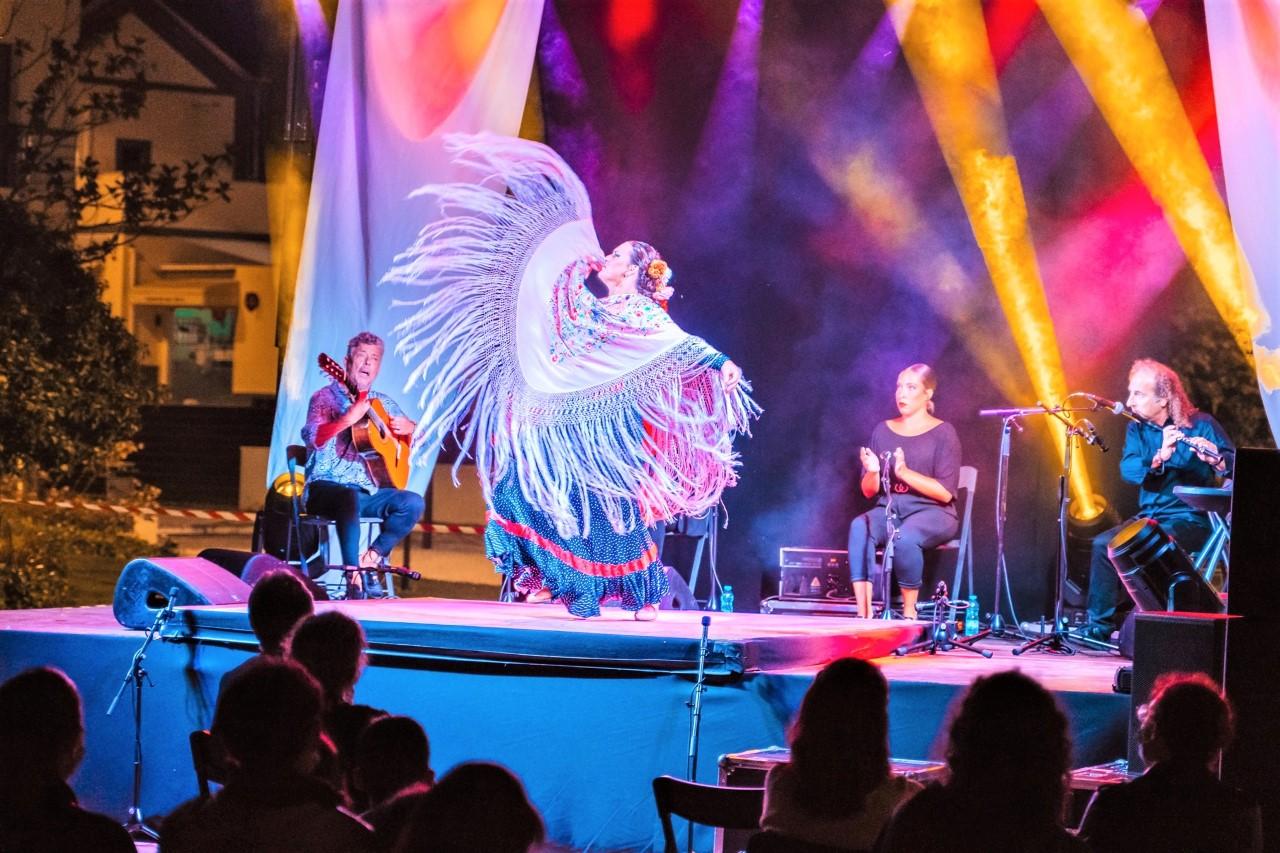 Festival 'Sete Sóis, Sete Luas' Proporcionou Agradável Espetáculo De Flamenco