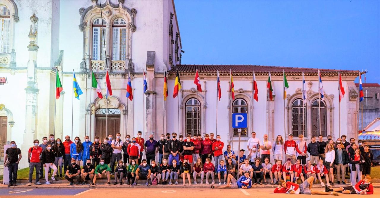 Atletas De 22 Países Disputaram A última Prova Da Taça Da Europa De Escalada De Bloco/2021 Em Soure