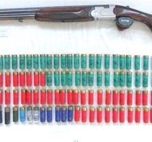 Arma E Munições Apreendidas A Indivíduo Que Ameaçava Terceiros